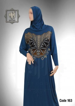 Esdal Atrab lycra with velour code M163