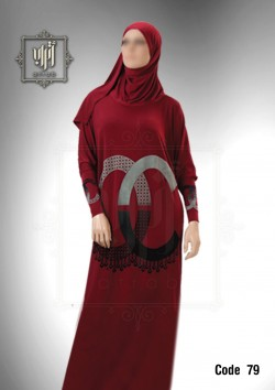 Esdal Atrab lycra with velour code 79